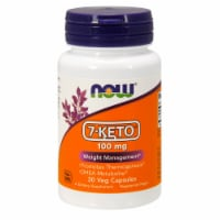 NOW Foods 7-Keto Weight Management Veg Capsules 100mg - 30 ct
