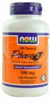 NOW Foods Phase 2 Starch Neutralizer Vcaps - 120 ct