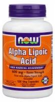 NOW Foods  Alpha Lipoic Acid Extra Strength - 600 mg - 120 Veg Capsules