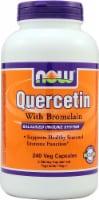 NOW Foods Quercetin With Bromelain Veg Capsules - 240 ct