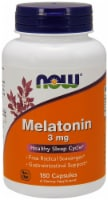 Now Melatonin 3mg Capsules