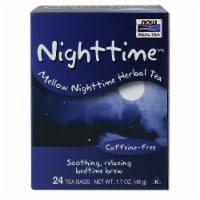 NOW Foods Nighttime Mellow Nighttime Herbal Tea