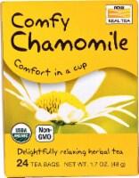 NOW Foods  Organic Real Tea   Comfy Chamomile