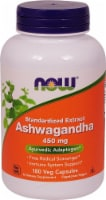 NOW Foods Ashwagandha Standardized Extract Veg Capsules 450mg