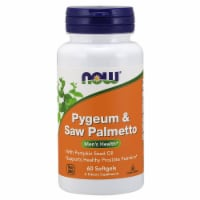 NOW Foods Pygeum & Saw Palmetto Men's Health Dietary Supplement Softgels