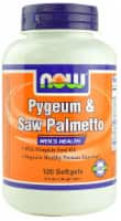 NOW Foods Pygeum & Saw Palmetto Softgels