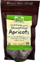 NOW Foods  Real Food Certified Organic Unsweetened Apricots