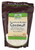 NOW   Real Food Unsweetened Shredded Coconut