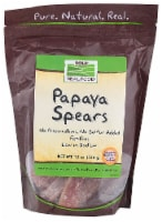 NOW   Real Food Papaya Spears