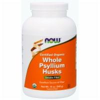 NOW   Organic Whole Psyllium Husks - 12 oz