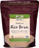 NOW   Real Food Rice Bran