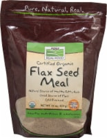 NOW Foods  Real Food Organic Flax Seed Meal - 22 oz