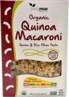NOW Foods  Livingnow® Organic Quinoa Macaroni & Rice Elbow Pasta