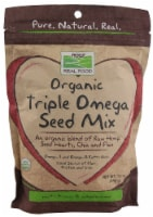 NOW   Real Food™ Organic Triple Omega Seed Mix