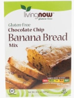 NOW Foods  Livingnow™ Banana Bread Mix   Chocolate Chip