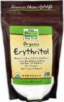 NOW Foods  Organic Erythritol Natural Sweetener - 1 lb