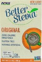 NOW Foods  BetterStevia™ Zero Calorie Sweetener   Original