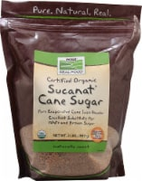 NOW Foods  Real Food™ Certified Organic Sucanat® Cane Sugar
