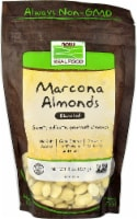 NOW   Real Food Marcona Almonds Blanched - 8 oz