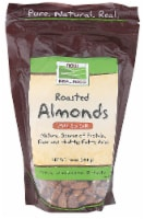 NOW   Real Food™ Roasted Almonds with Sea Salt