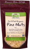 NOW   Real Food Organic Pine Nuts