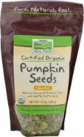 NOW   Real Food Organic Raw Pumpkin Seeds Unsalted