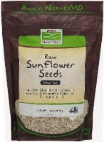 NOW   Real Food Raw Sunflower Seeds Unsalted - 16 oz