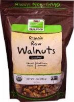 NOW   Real Food Organic Raw Walnuts Unsalted - 12 oz