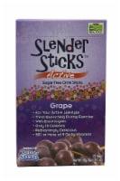 NOW Foods  Real Food™ Slender Sticks™ Sugar Free Drink Sticks   Grape - 12 Sticks