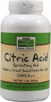 NOW  Real Food Citric Acid