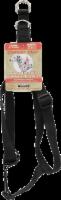 Alliance Comfort Wrap Adjustable Black Harness for Large Dogs