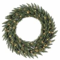 96  Camdon Fir Wreath 1000LED Multi - 1