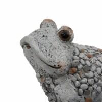 "8"" Gray Frog Outdoor Garden - 1"