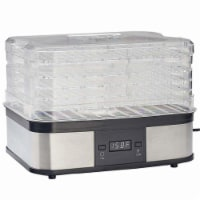 Lem Silver/Black 3.5 sq. ft. Food Dehydrator - Case Of: 1; - Count of: 1