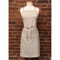 Heritage Lace FNW-APRO 26 x 34 in. Natural Wovens Apron, Oyster