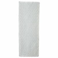 Heritage Lace CEL-1645W 16 x 45 in. Crochet Envy Table Runner, White - 1