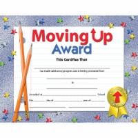 Moving Up Award Certificate, 8.5  x 11 , Pack of 30 - 1