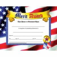 Merit Award, 8.5  x 11 , Pack of 30 - 1
