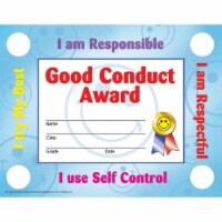 Good Conduct Certificates & Reward Seals, 30 8.5  x 11  Certificates, 160 Seals - 1