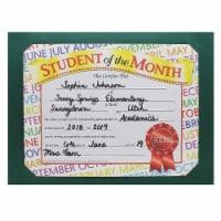 Plain Green Certificate Folders, 10  x 13 , Pack of 30 - 1
