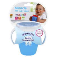 Munchkin Spoutless Spill Proof Cups - Assorted