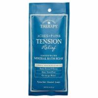Village Naturals Therapy® Aches + Pains Tension Relief Mineral Bath Soak - 2 oz