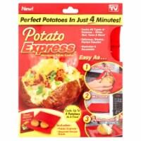 Potato/Veggie Express Microwave Cooking Bag - 1