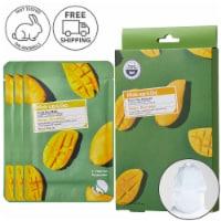Pick Up & Go 3 Sheets Nourishing Mango Hair Mask Cap - 30 ml / Sheet