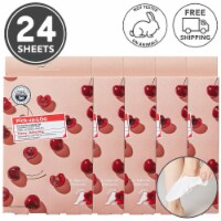 Pick Up & Go 24 Sheets Refreshing Cherry Foot Mask