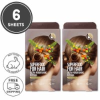 FARMSKIN Superfood for Hair Care Mask Cap Ultra Nourishing Olive 2 Set (Pack of 6)