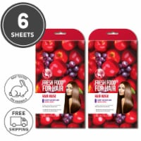 FARMSKIN Freshfood for Hair Care Mask Cap Deep Moisture Set of 2 (Pack of 6)