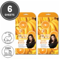 FARMSKIN Freshfood for Hair Care Mask Cap Damage Care  Set of 2 (Pack of 6)
