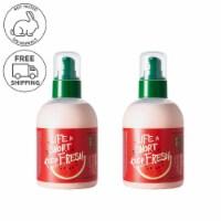 FARMSKIN 2 Packs Watermelon Moisturizing Aqua Facial Emulsion (Freshfood) - 200ml / Bottle
