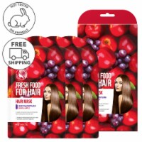 FARMSKIN Freshfood for Hair Care Mask Cap Deep Moisture Set (Pack of 3)